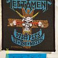 Patch - Testament - Disciples of the Watch woven patch