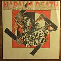 "Napalm Death - Nazi Punks Fuck Off 7"" clear green vinyl Tape / Vinyl / CD / Recording etc"