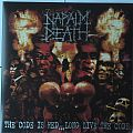 Napalm Death - The Code Is Red... Long Live The Code silver / red LP Tape / Vinyl / CD / Recording etc