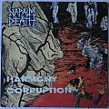 Napalm Death - Harmony Corruption LP Combat press Tape / Vinyl / CD / Recording etc