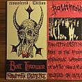 Bolt Thrower / Napalm Death split splatter LP