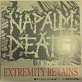 Napalm Death - Extremity Retains clear red LP Tape / Vinyl / CD / Recording etc