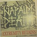Napalm Death - Extremity Retains clear LP Tape / Vinyl / CD / Recording etc