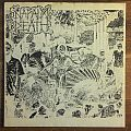 "Napalm Death - Tour EP 7"" clear white vinyl with poster cover Tape / Vinyl / CD / Recording etc"