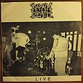 "Napalm Death - Live 7"" black / white cover small hole Tape / Vinyl / CD / Recording etc"