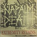 Napalm Death - Extremity Retains clear yellow LP Tape / Vinyl / CD / Recording etc