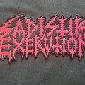 Sadistik Exekution Back Patch