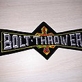 Bolt Thrower logo patch