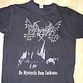 """Mayhem - """"De Mysteriis Dom Sathanas"""" T-shirt"""
