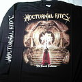 Nocturnal Rites The Sacred Talisman longsleeve tour 1999 RARE First print Never used TShirt or Longsleeve