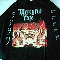 Mercyful Fate 9 European Tour 1999 longsleeve RARE First print Never used