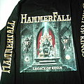 Hammerfall Legacy Of Kings longsleeve 1998 RARE First print Never used