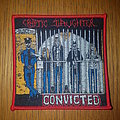 Cryptic Slaughter - Convicted patch