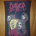Slayer - Patch - Slayer patch red border #16 of 50