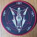 VON limited and numbered round patch red border