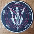 Von - Patch - VON limited and numbered round patch grey border