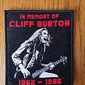Metallica - Patch - Cliff Burton patch