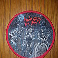 Slayer round patch red border