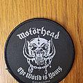 Motörhead - Patch - Motörhead - The Wörld Is Yours patch
