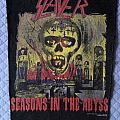 Patch - Slayer - Seasons in the Abyss original 1990 backpatch