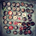 Custom made pins