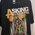Asking Alexandria - TShirt or Longsleeve - Danny Worsnop The Cowboy
