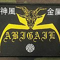 Abigail - Patch - Abigail Woven Patch