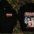 Exodus Zip Up Hoodie Hooded Top
