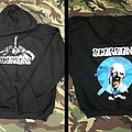 Scorpions-Black Out Hooded Sweatshirt