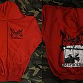 Mayhem-Deathcrush Zip Up Hoodie Hooded Top