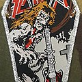 Slayer Jeff Hanneman Coffin Patch