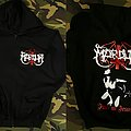 Marduk Zip Up Hoodie Hooded Top