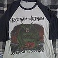 Flotsam And Jetsam - Doomsday for the deceiver raglan