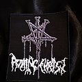 Rotting Christ - Patch - Rotting Christ - Nails Logo Patch