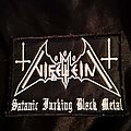 Nifelheim - Patch - Nifelheim - Satanic Fucking Black Metal Logo Patch