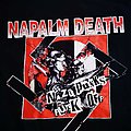 Napalm Death - TShirt or Longsleeve - Napalm Death - Nazi Punks Fuck Off Shirt