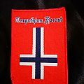 Carpathian Forest - Patch - Carpathian Forest - Norway Flag Patch