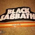 Black Sabbath - Patch - DIY Black Sabbath shaped back patch