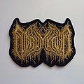 Nigrummagia - Patch - Nigrummagia - Shaped Logo Patch (Gold)