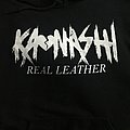 Real Leather hoodie