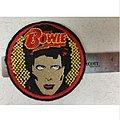"David Bowie 3"" patch"