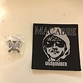 Macabre unabomber patch and pin