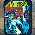 Anthrax - Spreading The Disease,  printed