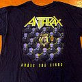 Anthrax For All Kings World Tour 2018 T Shirt