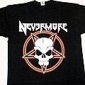 Nevermore - TShirt or Longsleeve - Nevermore - Pentagram & Skull