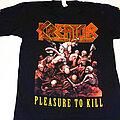 Kreator - TShirt or Longsleeve - Kreator - Pleasure To Kill
