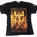 Immolation - TShirt or Longsleeve - Immolation - Close To A World Below Tour 2001