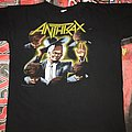 Anthrax 'Among The Living' Tour Shirt