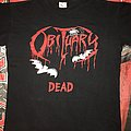 Obituary 'Dead' Live Album T-Shirt