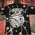 "Anthrax ""Persistence Of Time"" All-Over Print T-Shirt"
